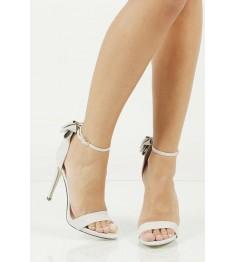damskie eleganckie sandały z kokardą