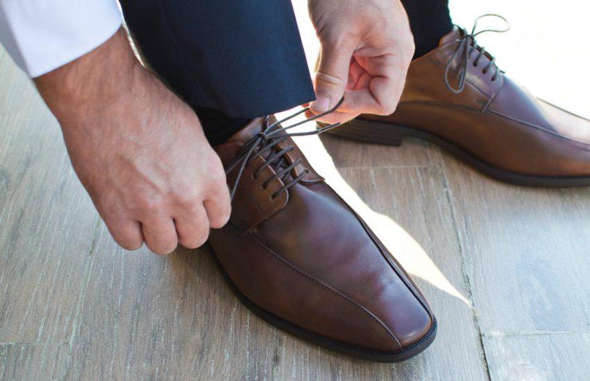 skórzane obuwie dla prawdziwych mężczyzn