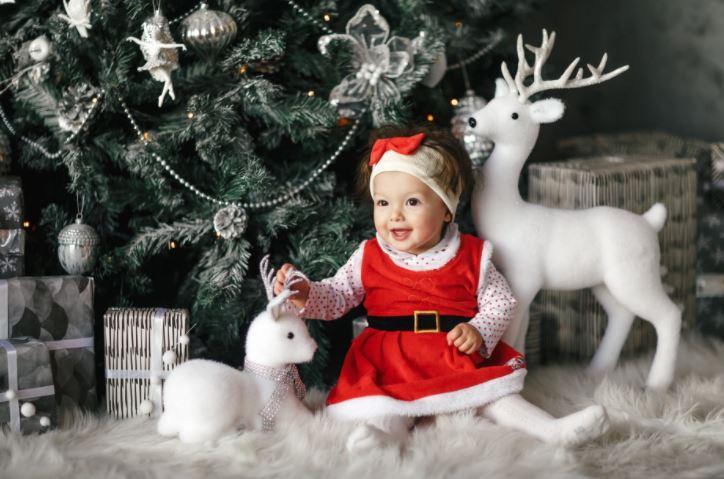 Sukienka świąteczna dla dziewczynek